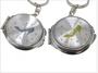 Cinderella Slipper Design Compact Mirror Key chain Favors, 12