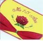Red Rose Quinceanera Money Box, available in any colors