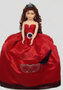 Red Quinceanera Doll