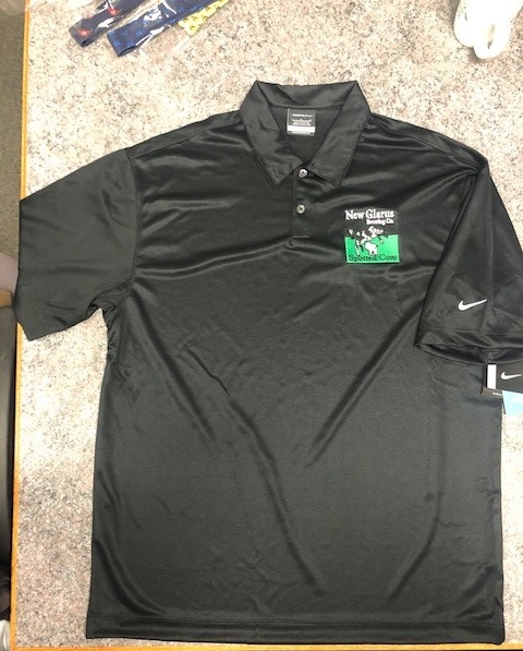 Black Nike Polo Embroidered