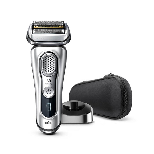 Electric Shaver, Series 9, Silver with charging stand, 9330s