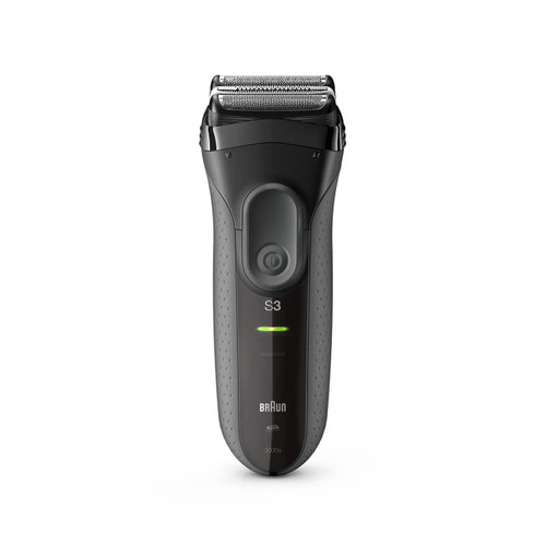 Electric Shaver, Series 3 ProSkin, Grey with protection cap, 3000s