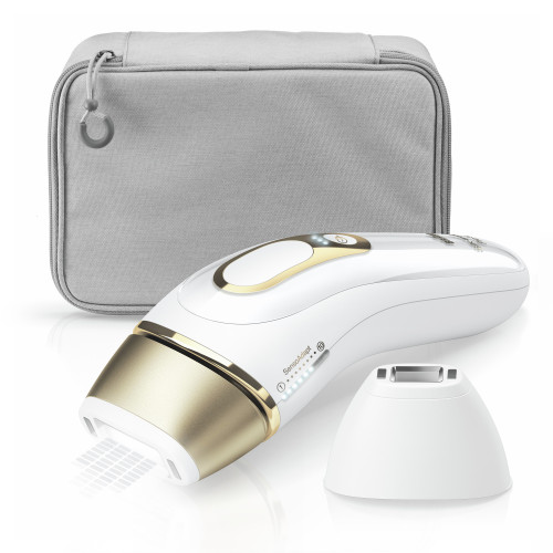Intense Pulsed Light (IPL), Silk·expert Pro 5, Gold with precision head, Venus razor and beauty pouch, PL5117