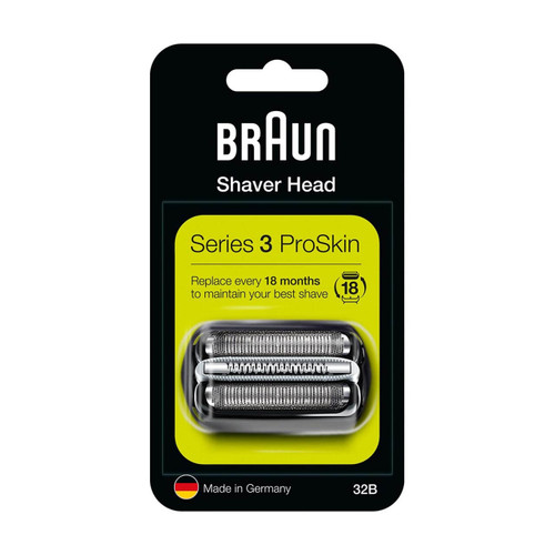 Shaver Replacement Head, Series 3, 32B (Compatible with Series 3 Older Generation shavers)