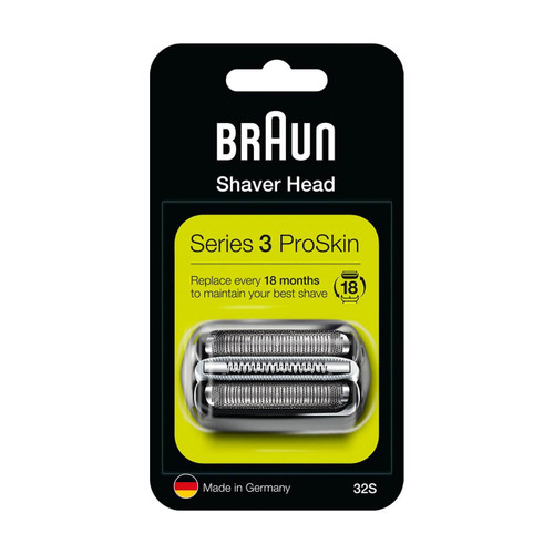 Shaver Replacement Head, Series 3, 32S (Compatible with Series 3 Older Generation shavers)