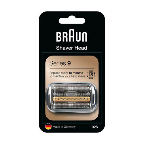 Shaver Replacement Head, Series 9, 92S (Compatible with all Series 9 electric shavers)