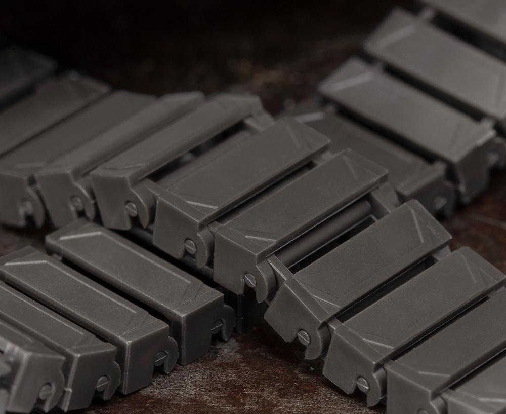 Brickmania® Track Links™ V2 - Chevron Double Wide - Steel - x150