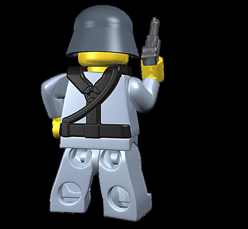 BrickArms German Command - WWII Field Gear