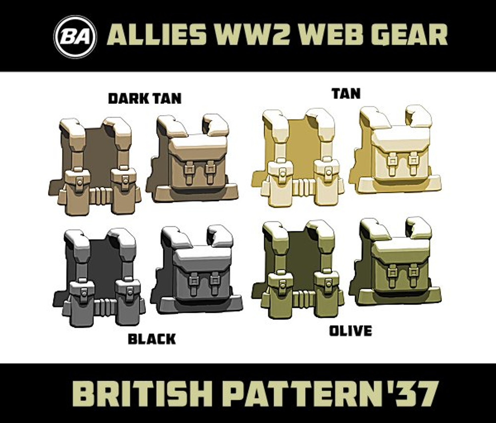 BrickArms British Pattern '37 - WWII Web Gear