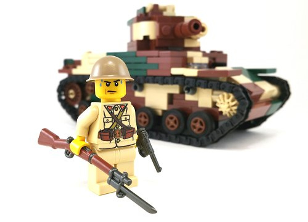BrickArms T-90 Japanese Helmet