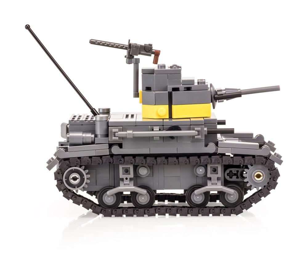 M2A4 Stuart US Marines Light Tank