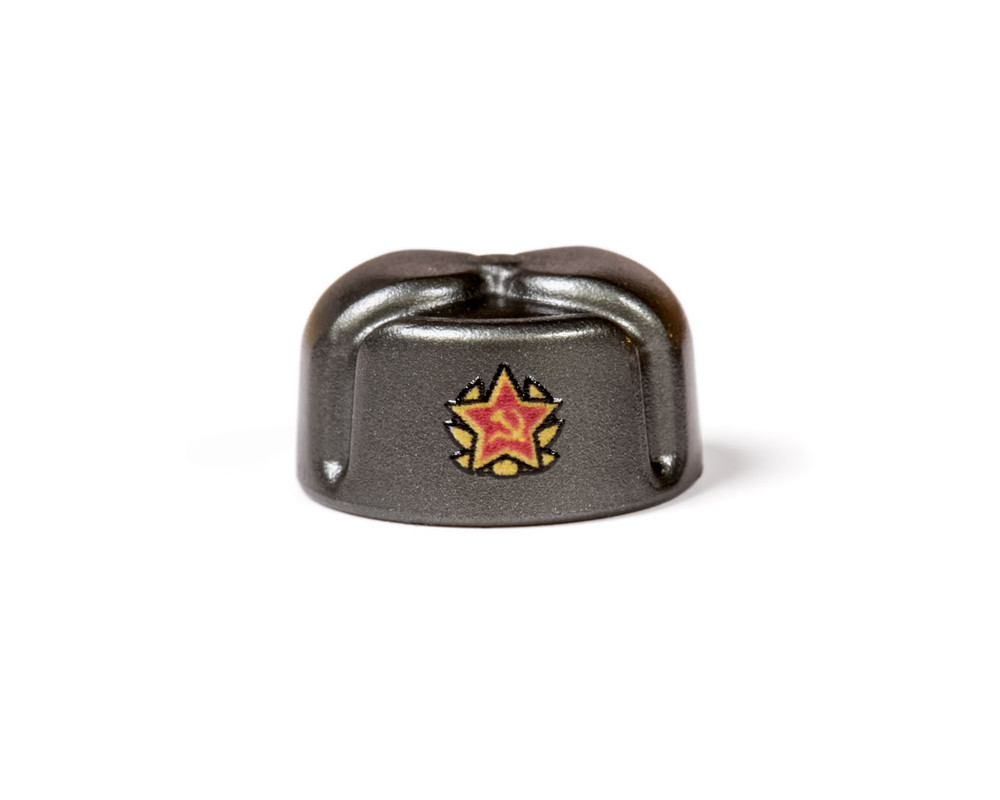 BrickArms Ushanka With Printed Soviet Insignia