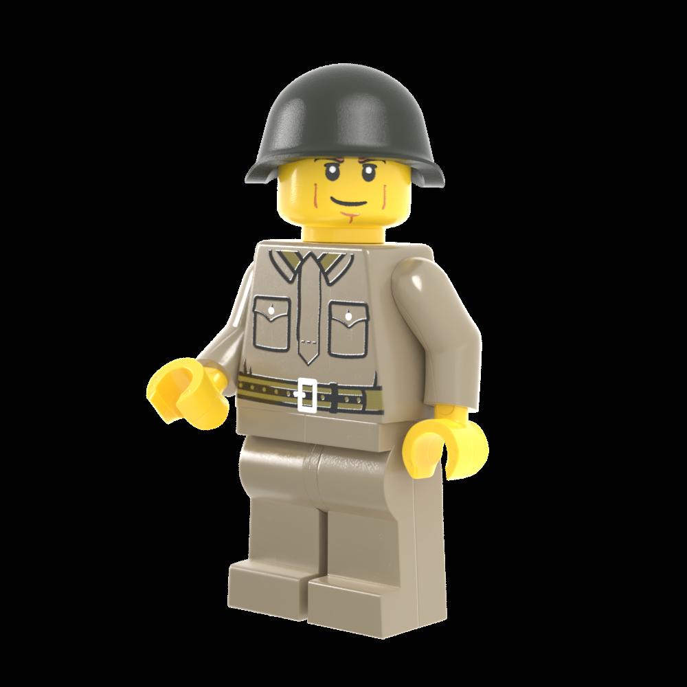 WWII Russian Infantry Mid-War