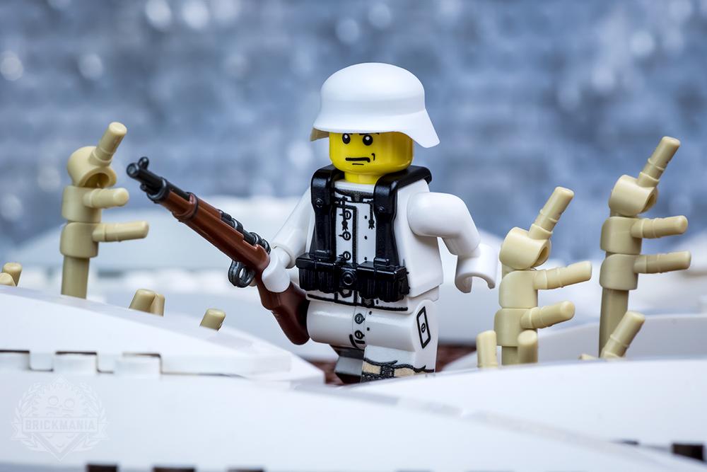 WWII Winter German Soldier