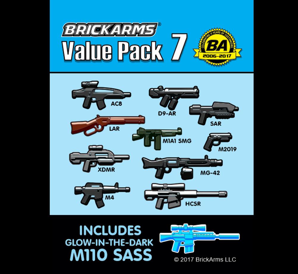 BrickArms Value Pack #7