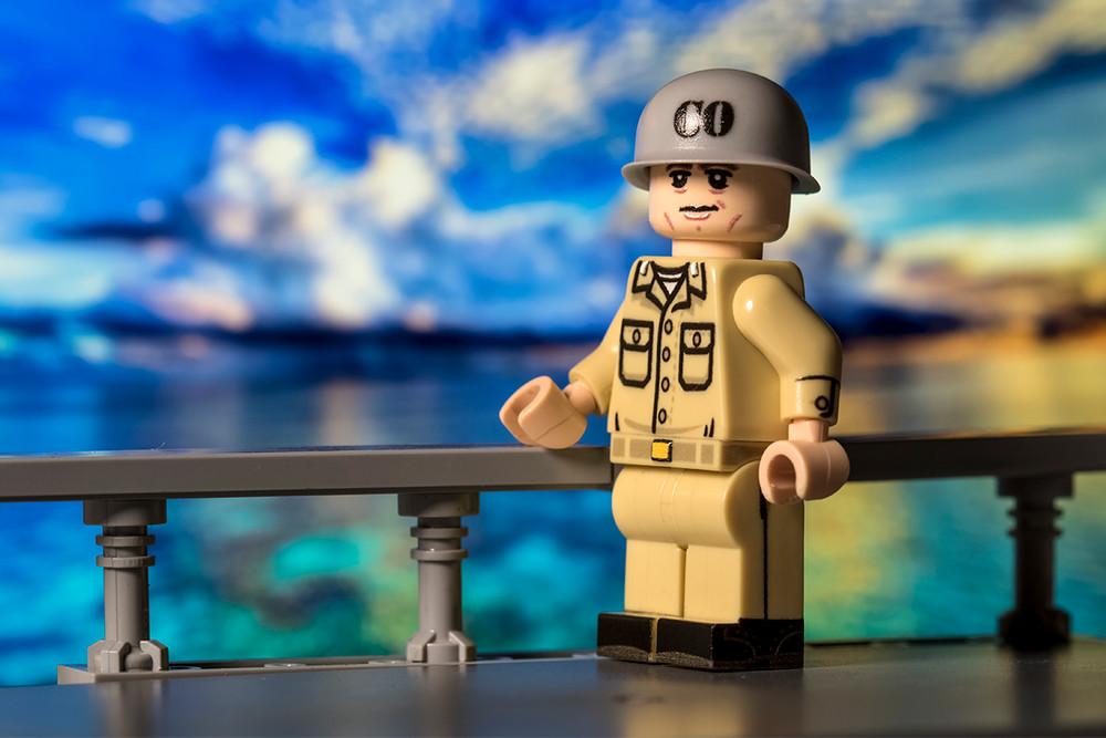 BrickArms Navy Commanding Officer Helmet