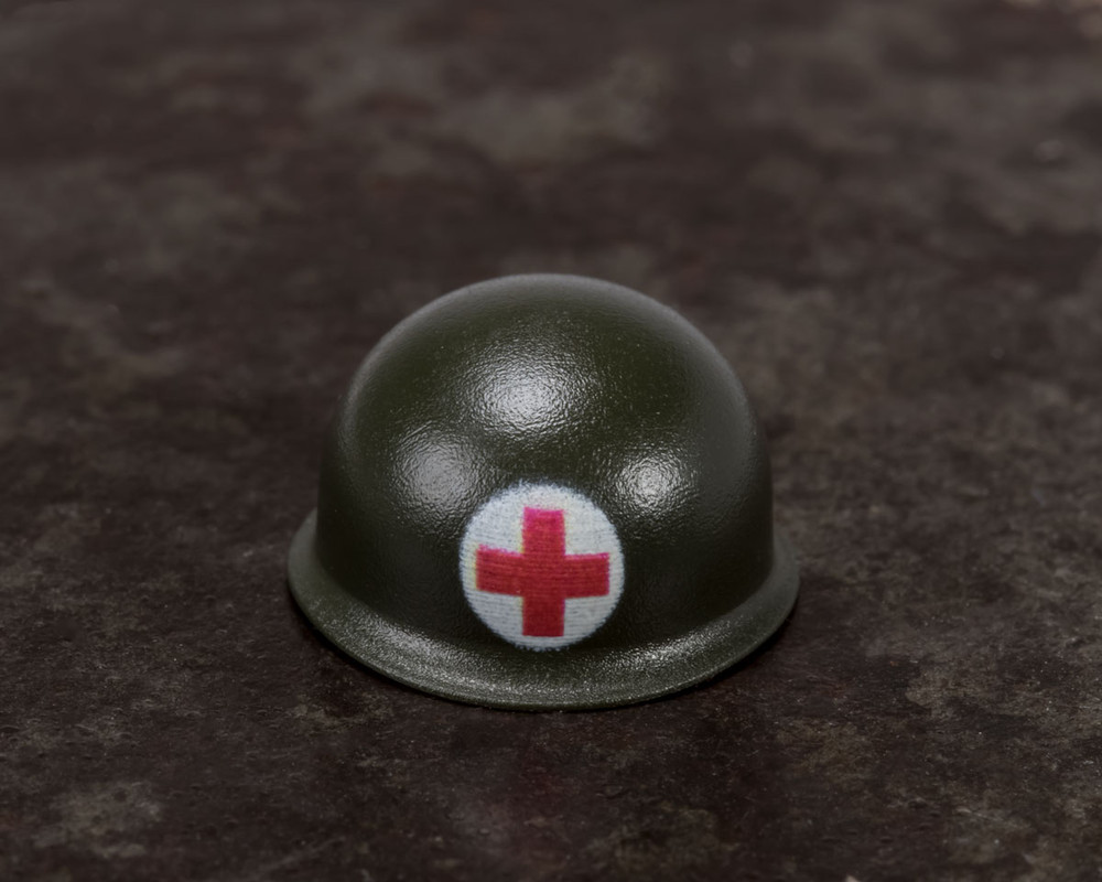 WWII US Army Medic BrickArms® Helmet