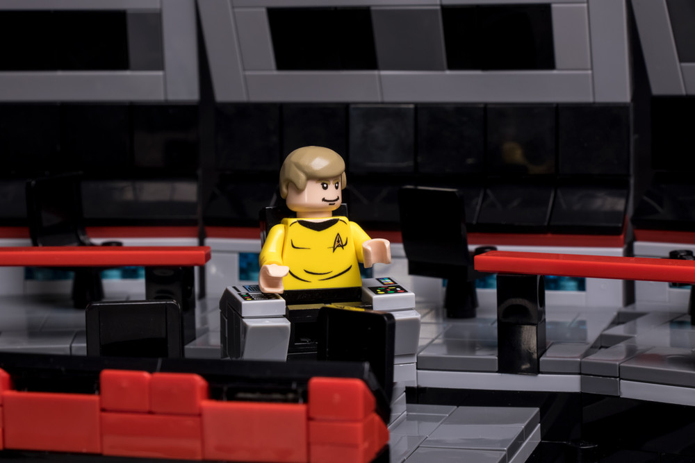 Starship Captain with Command Chair