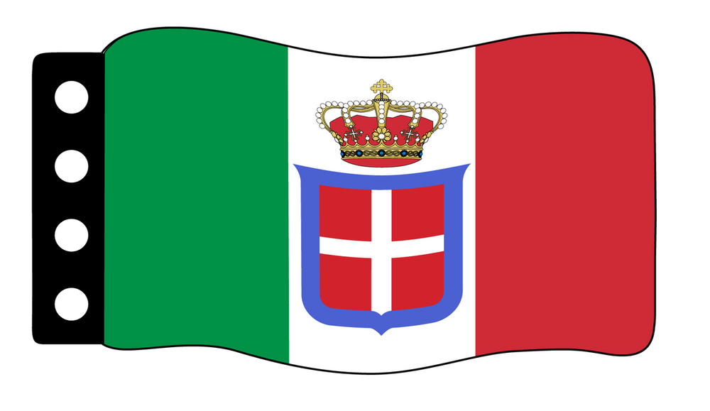 Flag - Italy (World War Naval Ensign)