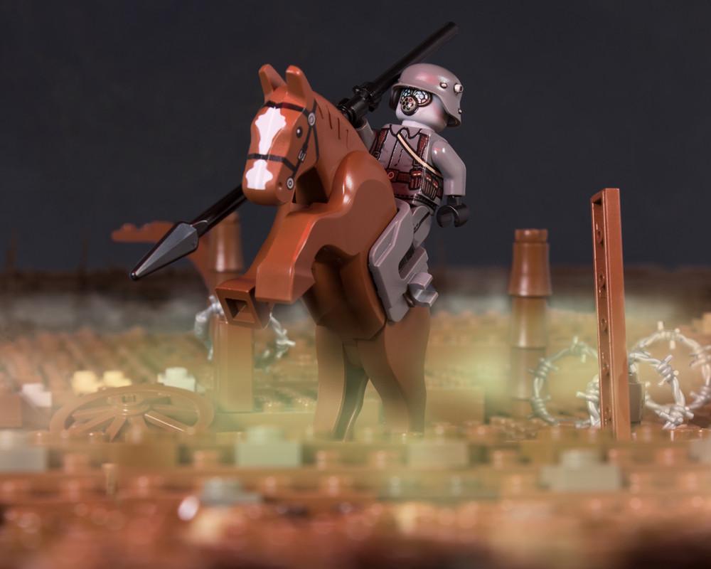 WWI German Cavalry Lancer