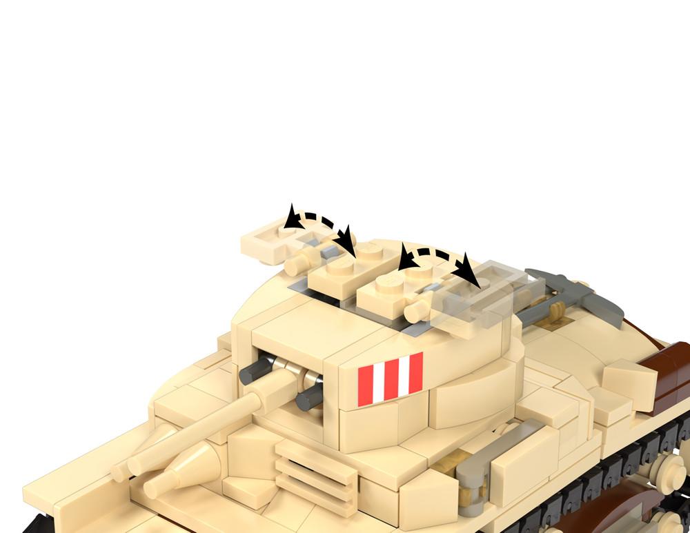 Carro Armato M13/40 - Italian Medium Tank