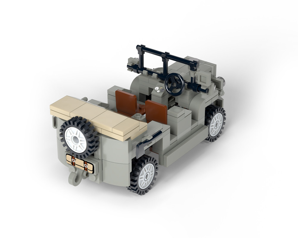 SPA TL.37 - WWII Light Artillery Tractor