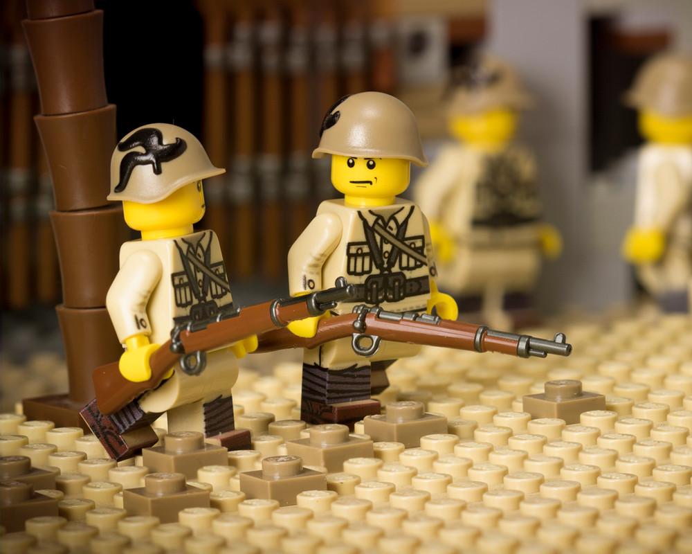 WWII Italian Bersaglieri