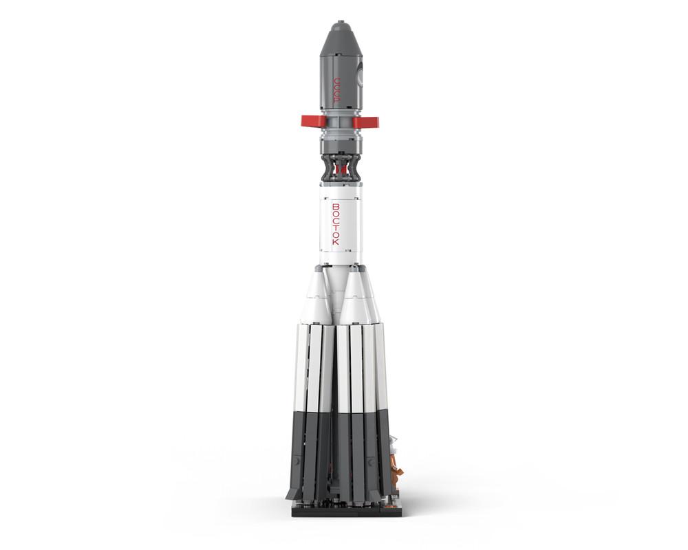 Vostok 1 - With R-7 Rocket