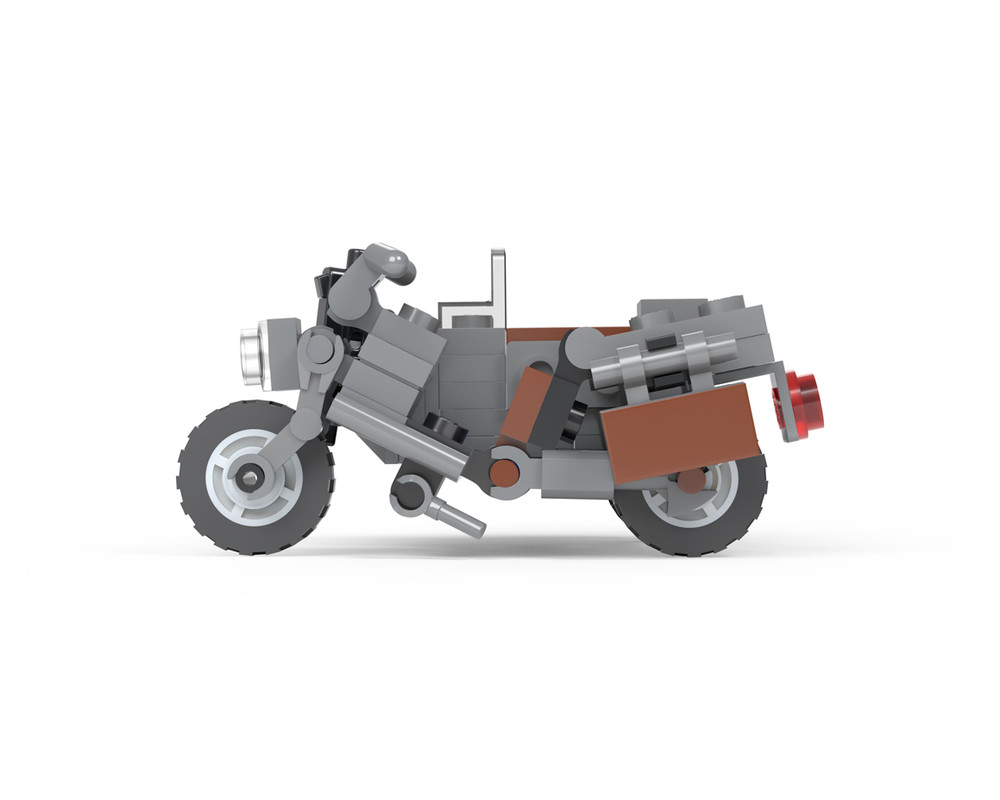 WWII WLA Motorcycle with Side Car