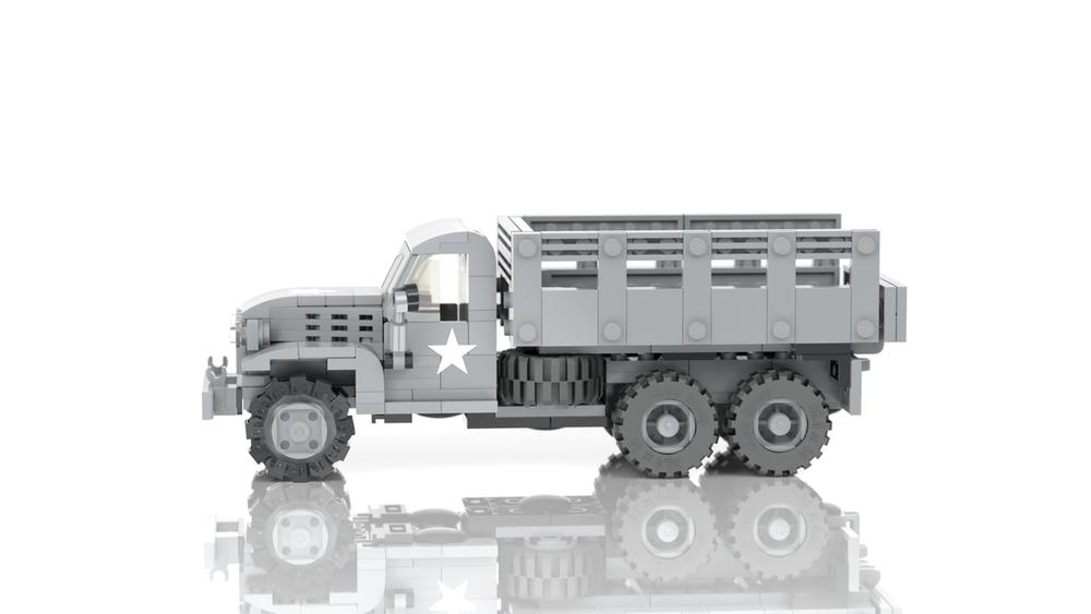 2 1/2 Ton Cargo Truck - Deuce and a Half
