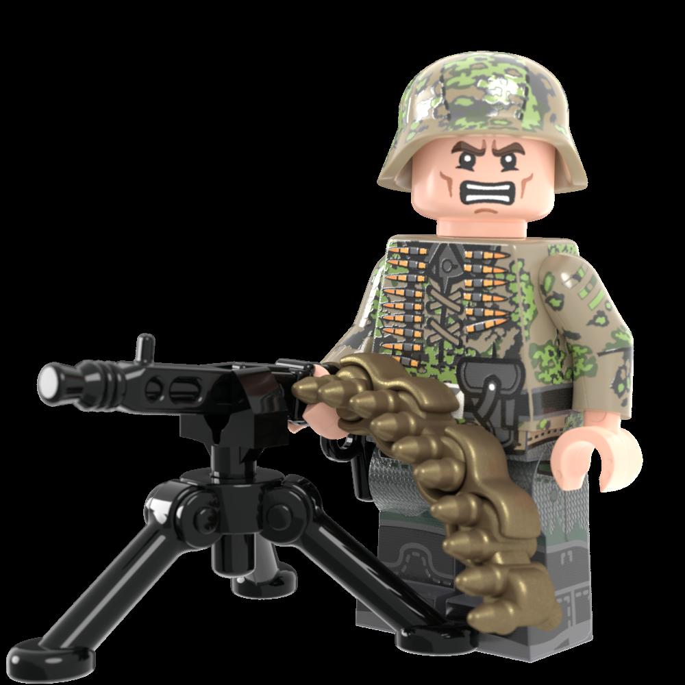 WWII German Kursk Machine Gunner