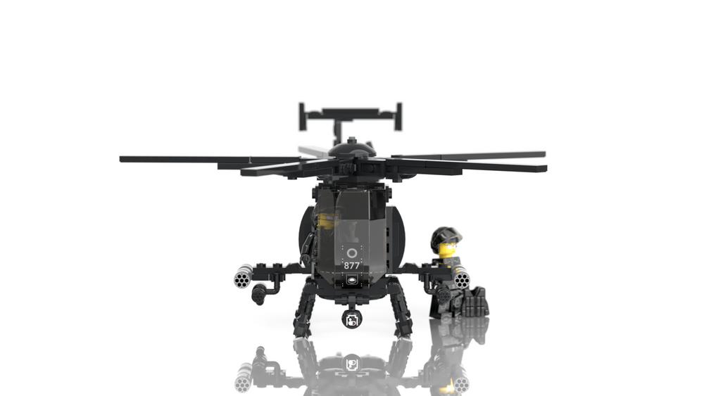 AH-6 Little Bird - Light Attack Helicopter