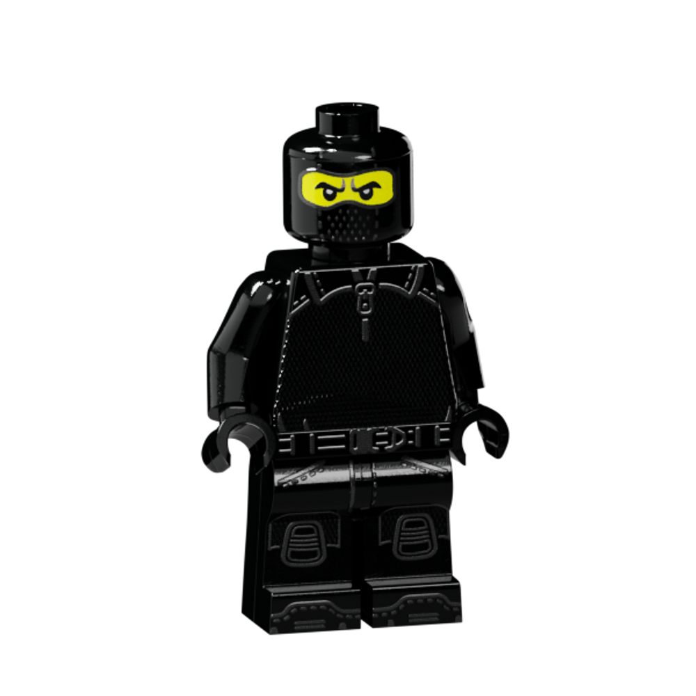 Base artwork used on all 4 minifigs