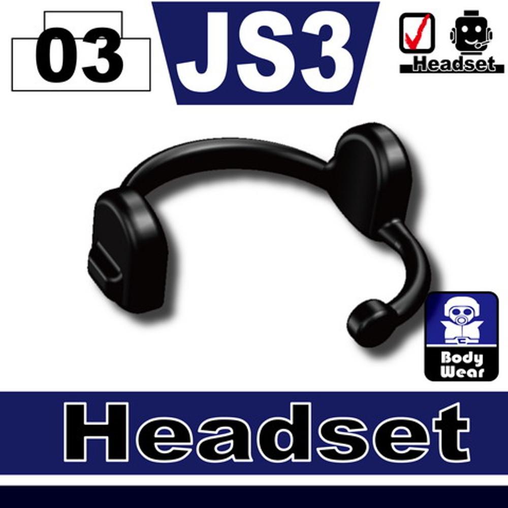 Minifig.Cat Headset (JS3)
