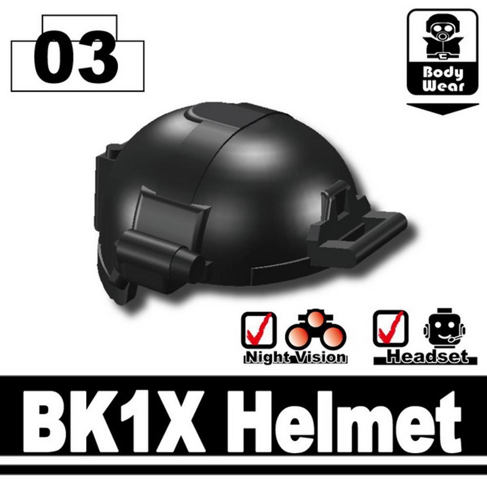 Minifig.Cat Tactical Fast Helmet (BK1X)