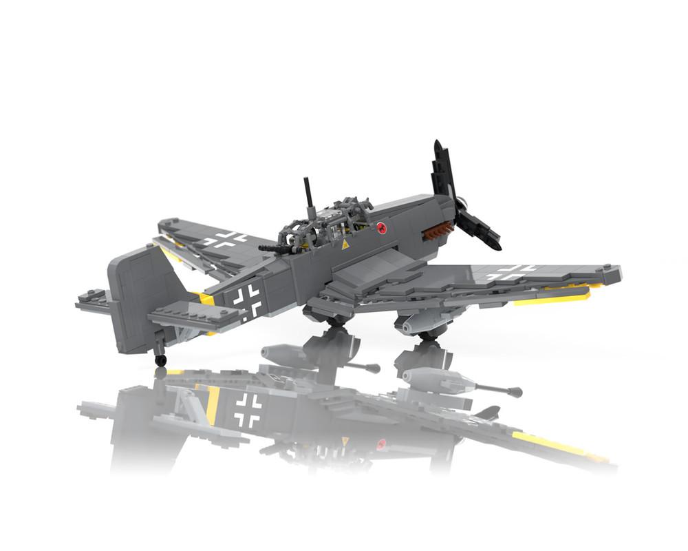 Ju87 G-2 Stuka - WWII Ground-Attack Aircraft