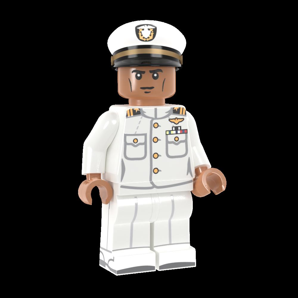 US Navy Officer in Dress Whites