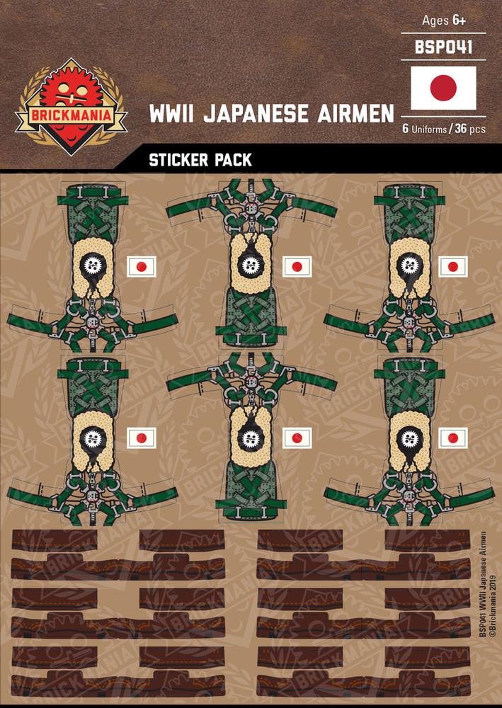 WWII Japanese Airmen - Sticker Pack