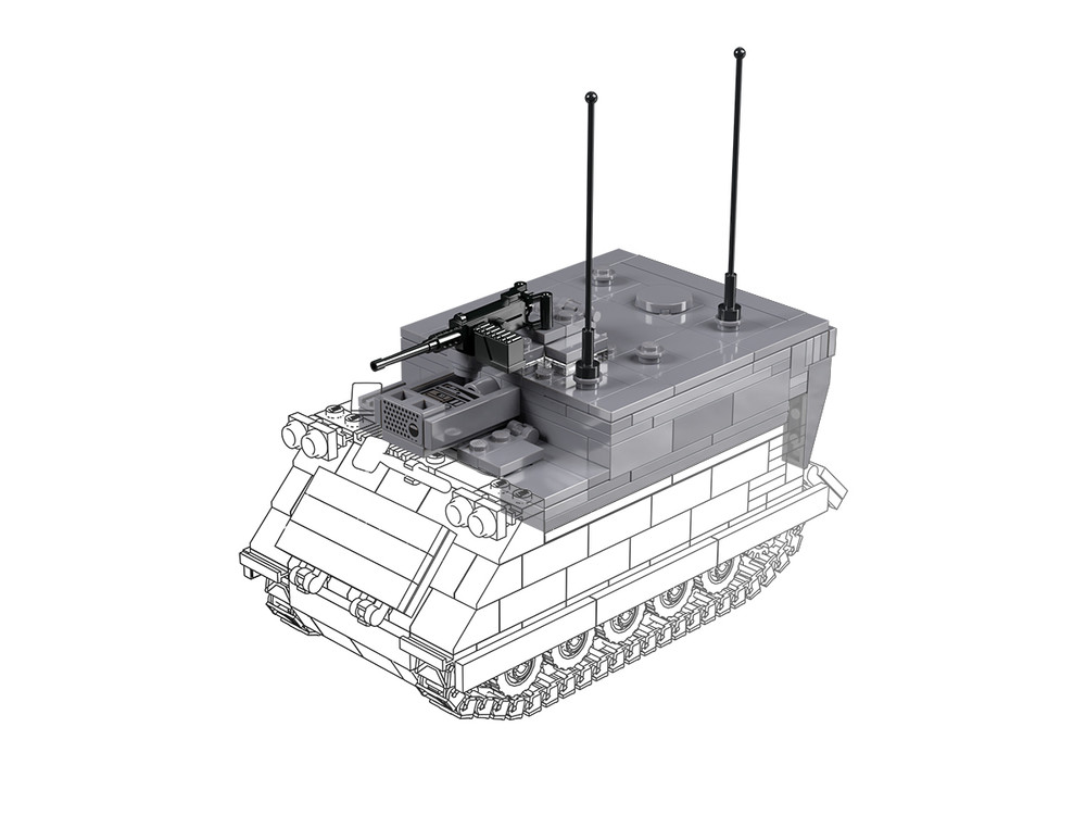 M577 - Command Vehicle Pack for M113