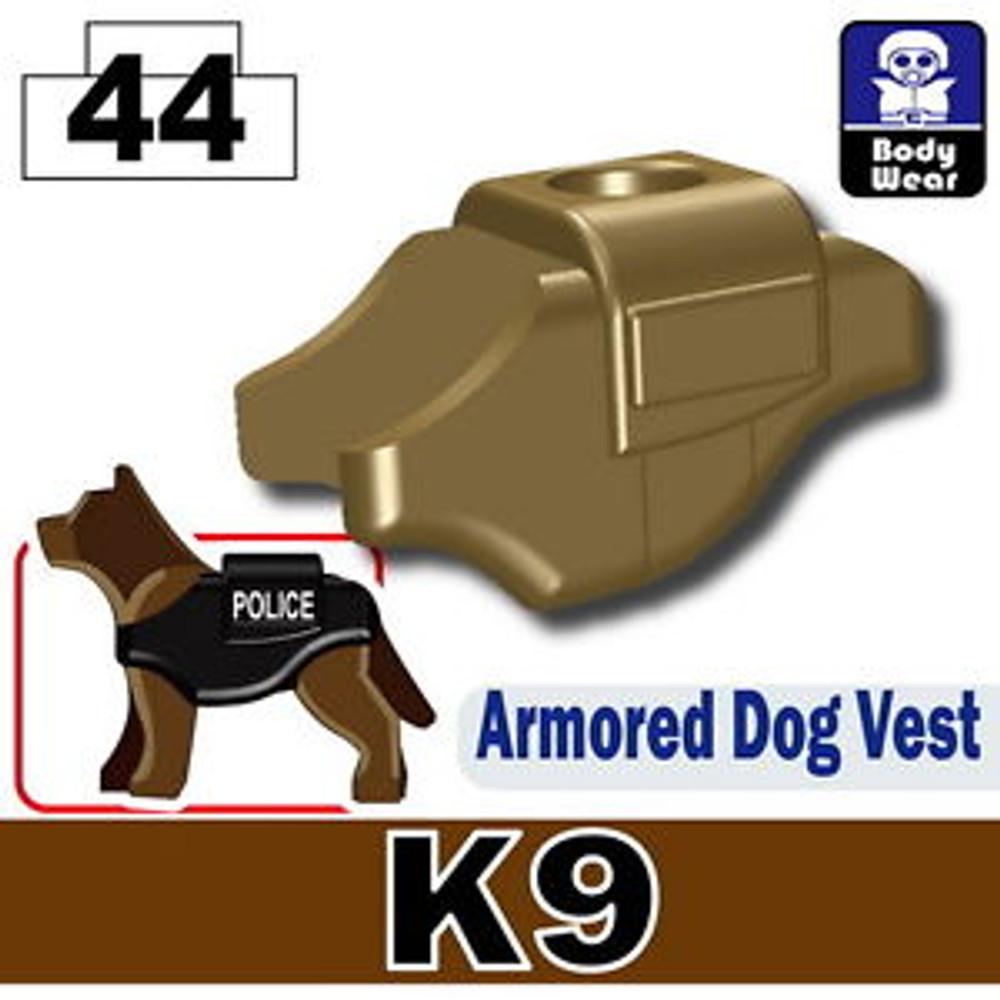 Minifig.Cat Armored Dog Vest (K9)
