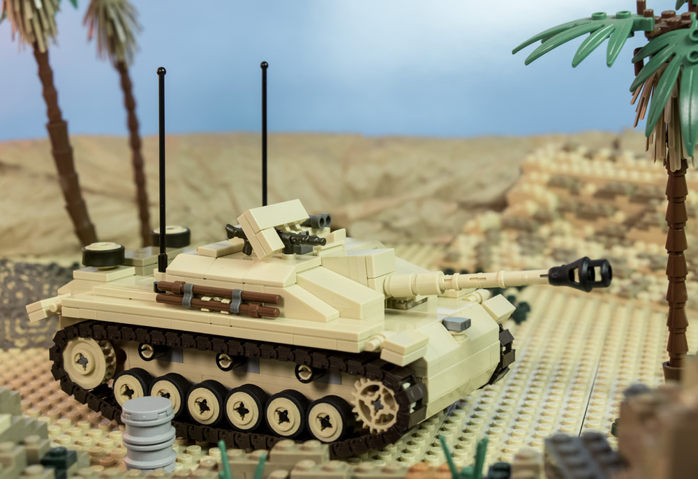 WWII German Pak 40 / StuG III Muzzle Brake - Axle or Bar Connection