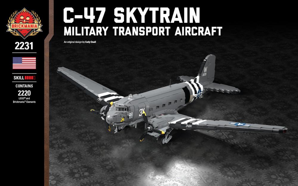 C-47 Skytrain - Military Transport Aircraft