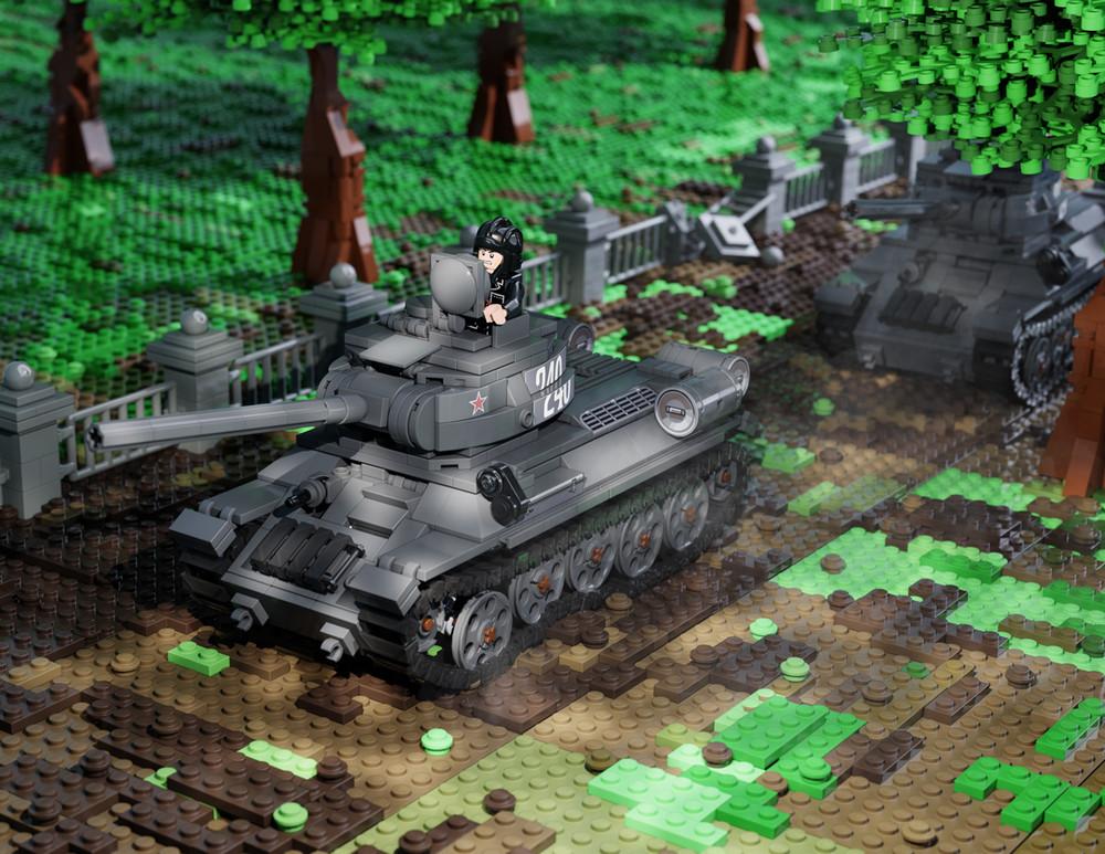 T-34/85 - WW2 Russian Medium Tank