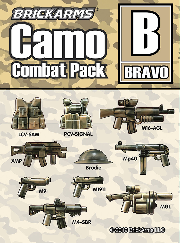 Brickarms® Camo Combat Pack - BRAVO