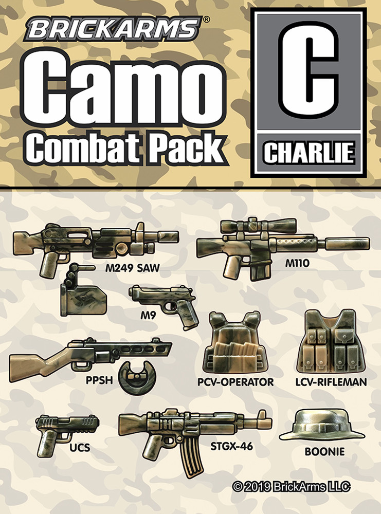 Brickarms® Camo Combat Pack - CHARLIE