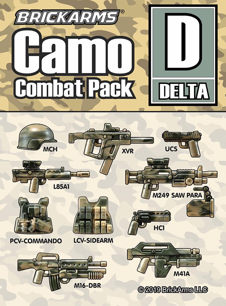 Brickarms® Camo Combat Pack - DELTA