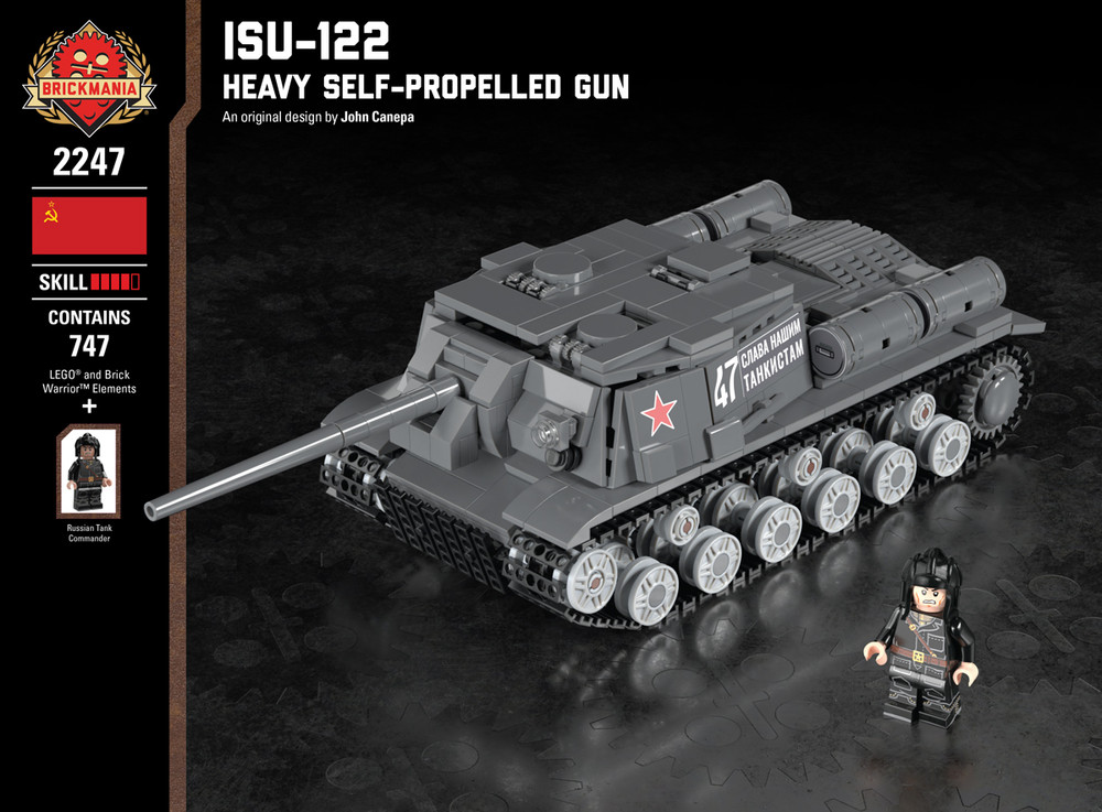 ISU-122 - Heavy Self-Propelled Gun