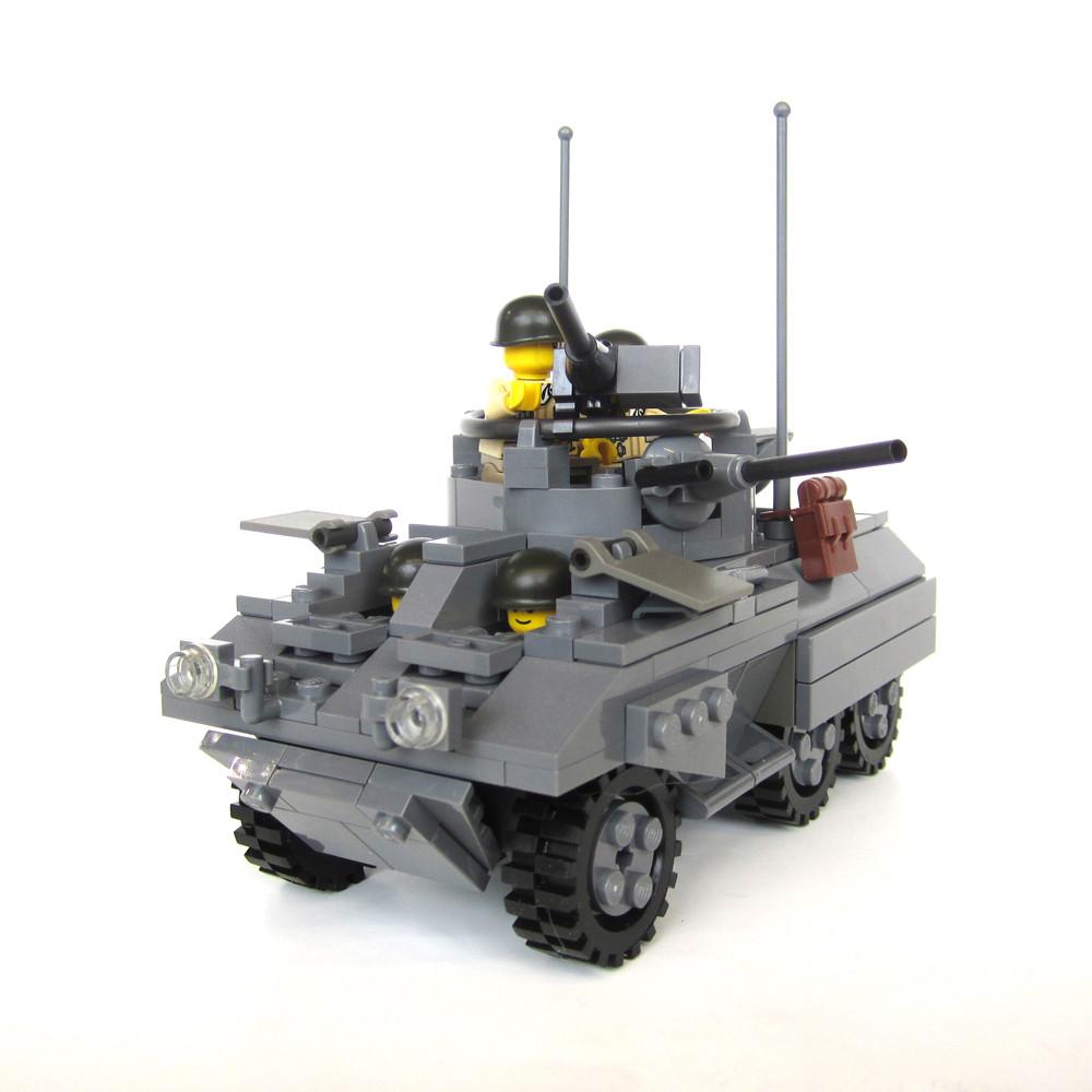 "M8 ""Greyhound"" 6x6 Light Armored Scout Car"