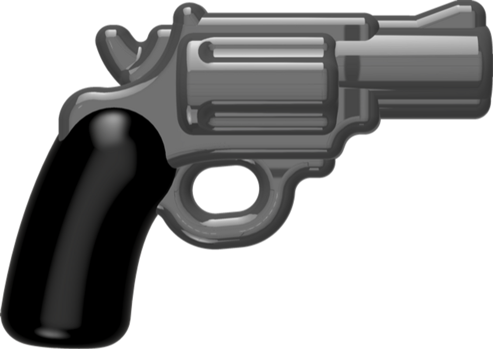 BrickArms Reloaded Overmolded Snubnose Revolver
