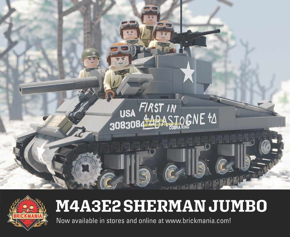 M4A3E2 Sherman Jumbo WWII Heavy Assault Tank